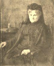 Portret pani Salomei Kalinowkiej / olejny # 24