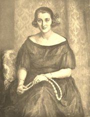 Portret pani Kszeslawej Kozniewskiej / olejny # 37