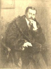 Portret meza artyski Waczlawa Kaliniewskiego / olejny # 53