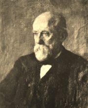 Portret ojca malarki  inz. Jana Kozniewskiego / olejny