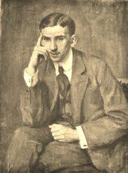 Portret brata malarki z salonu Societi National des Belles Artes w Paryzu