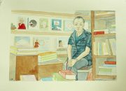 Mr.Jampa the buddhist bookseller
