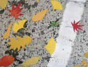 Autumn road OC 41x53cm