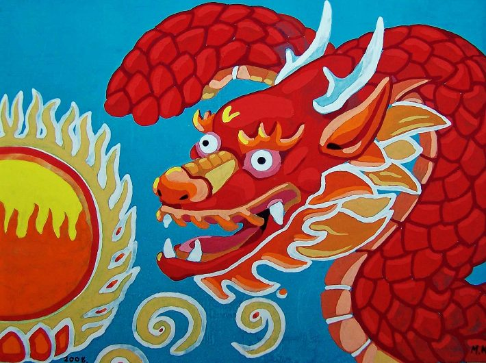 Red dragon 2008